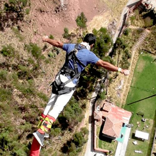 Bungee Jumping & Slingshot ½ Dia