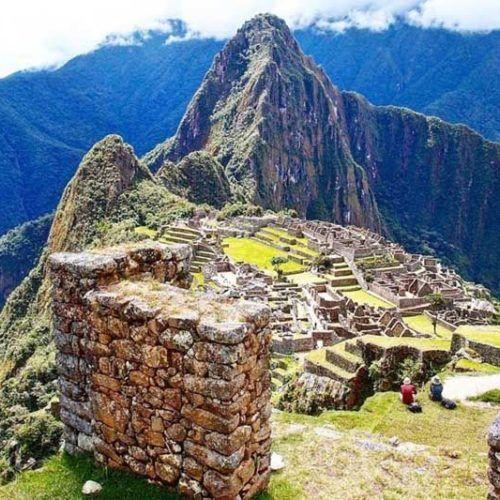Machu Picchu con el boleto de la tarde
